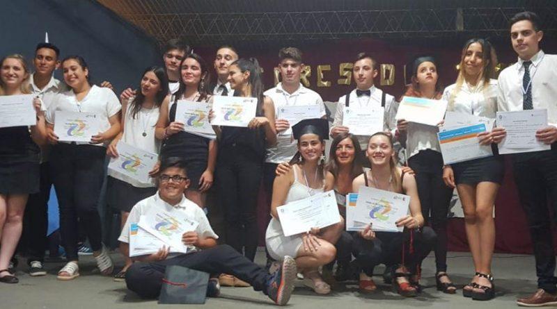 FIN DE CICLO, EGRESO Y CERTIFICACIÓN DE PROMOTORES AMBIENTALES 2019 EN EL IPEM 387