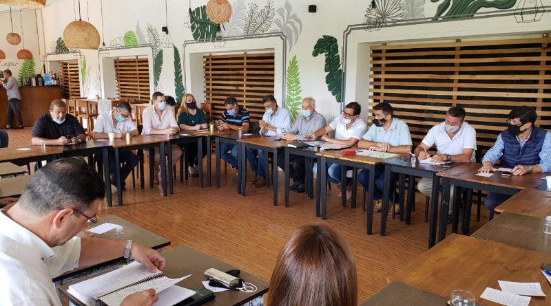 Reunión con #Intendentes del Departamento Colón