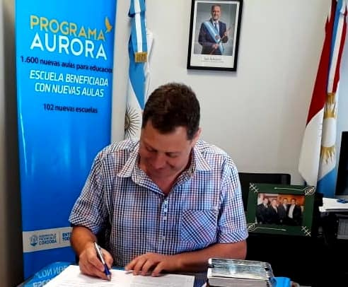 EDUCACIÓN: SE CONSTRUIRÁN DOS NUEVAS AULAS PARA EL IPEM 387