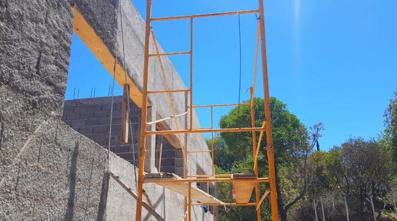 INICIAMOS LA CONSTRUCCIÓN DEL TECHO DE LAS NUEVAS AULAS DEL IPEM387