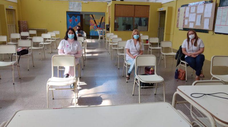 MAS CAPACITACIÓN DEL EQUIPO DE SALUD LOCAL COMO CENTRO DE TESTEO COVID