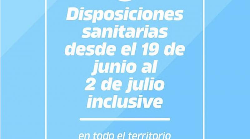 📝 NUEVAS DISPOSICIONES PROVINCIALES EN EL MARCO DE LA PANDEMIA DEL CORONAVIRUS